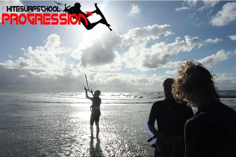 kitesurfles Ijmuiden kitesurfschool