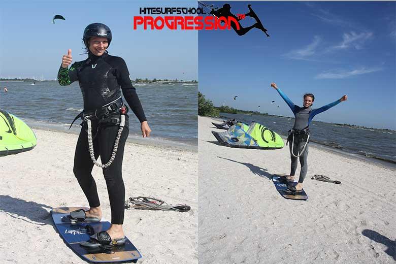 kitesurfles andijk