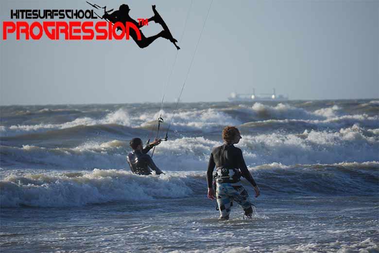 kitesurfles hoek van holland
