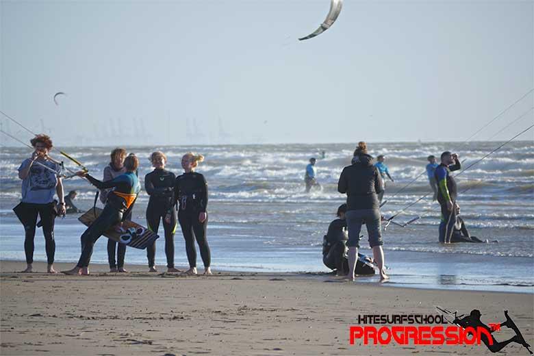 kitesurfles oostvoorne