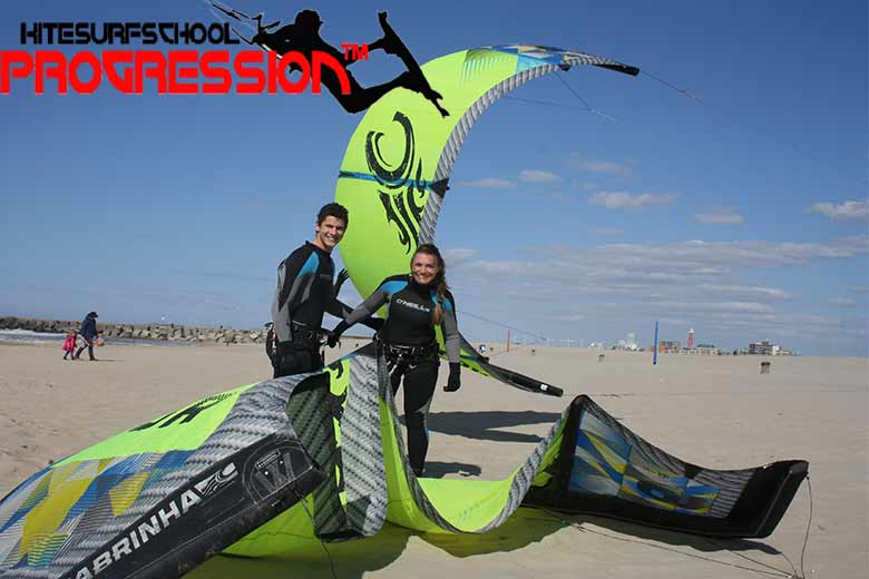 kitesurfles scheveningen