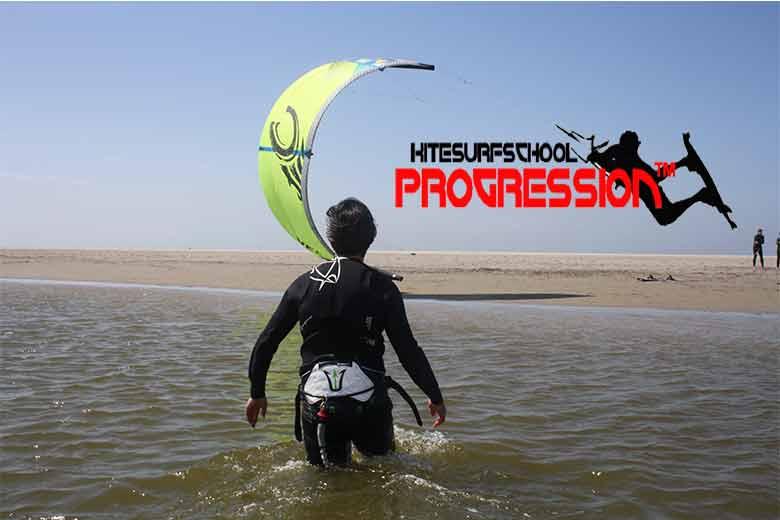 kitesurfles zandmotor